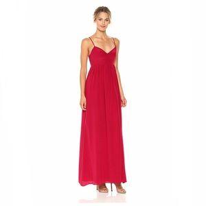 Amanda Uprichard Silk Maxi Gown Dress